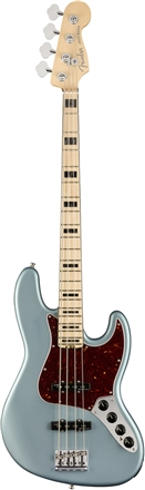 American Elite Jazz Bass® - Satin Ice Blue Metallic