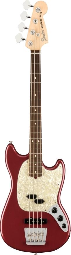 American Performer Mustang® Bass - Aubergine