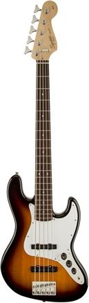 Affinity Series™ Jazz Bass® V (Five String) - Brown Sunburst