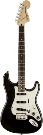 Deluxe Hot Rails™ Stratocaster® - Black