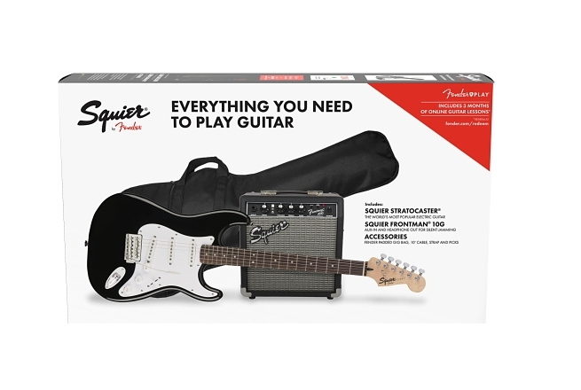 Squier® Stratocaster® Pack - Black