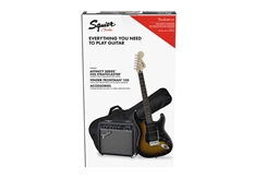 Affinity Series™ Stratocaster® HSS Pack - Brown Sunburst