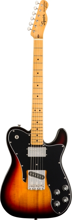 SQ CV 70s TELE CSTM - 3-Color Sunburst
