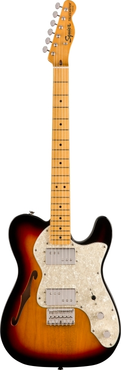 Classic Vibe '70s Telecaster® Thinline - 3-Color Sunburst