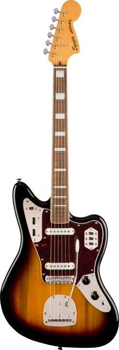 SQ CV 70s JAGUAR - 3-Color Sunburst