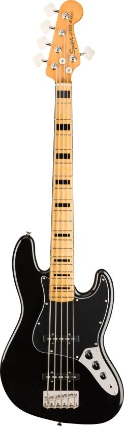 Classic Vibe '70s Jazz Bass® V - Black