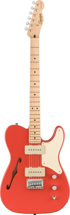 Paranormal Cabronita Telecaster® Thinline - Fiesta Red