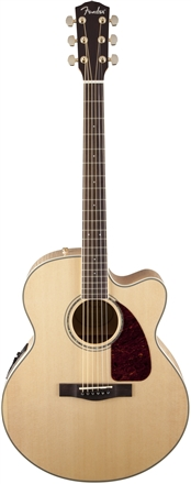 CJ-290SCE Jumbo Maple With Case - Natural