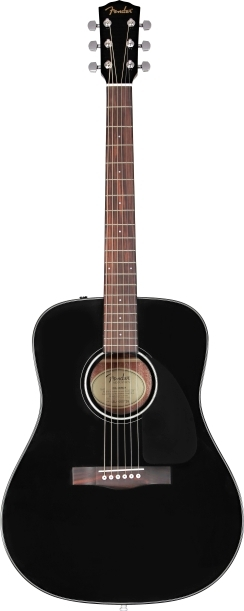 CD-60 Dreadnought V3 w/ Case - Black