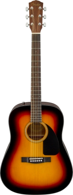 CD-60 Dread V3 w/ Case - Sunburst