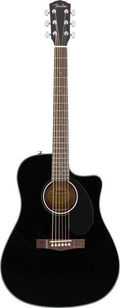 CD-60SCE Dreadnought - Black