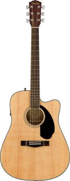 CD-60SCE Dreadnought - Natural