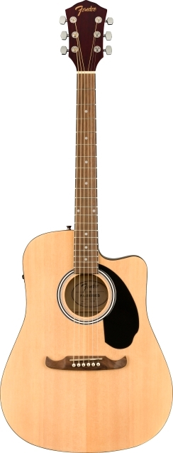 FA-125CE Dreadnought, Walnut Fingerboard - Natural