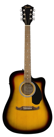 FA-125CE Dreadnought, Walnut Fingerboard - Sunburst