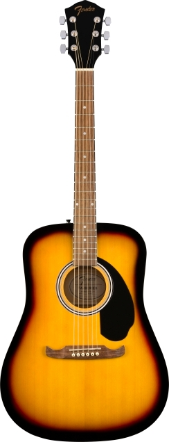 FA-125 Dreadnought, Walnut - Sunburst