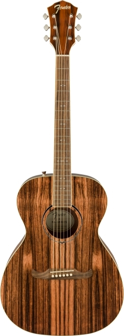 2019 Limited Edition FA-235E Concert, Striped Ebony Top -