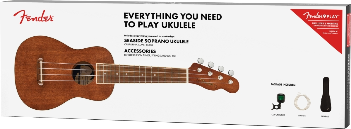 Seaside Soprano Ukulele Pack -