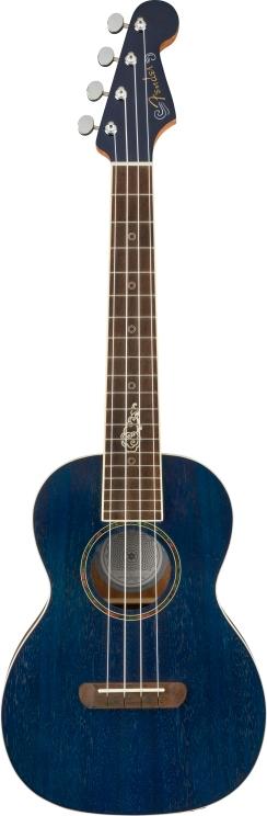 Dhani Harrison Ukulele - Sapphire Blue Transparent