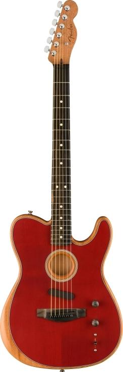 American Acoustasonic® Telecaster® - Crimson Red