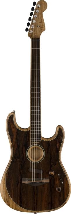 American Acoustasonic® Stratocaster® Ziricote -