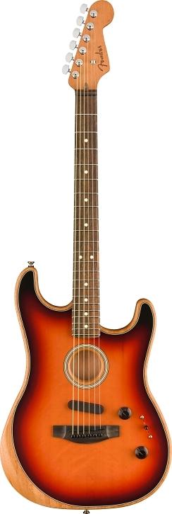 American Acoustasonic® Stratocaster® - 3-Color Sunburst