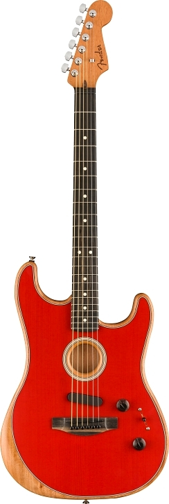 American Acoustasonic® Stratocaster® - Dakota Red