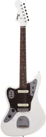 2019 Limited Edition MIJ Traditional '60s Jaguar® Left-Handed - Arctic White
