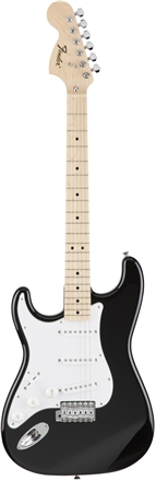 Classic 70s Strat Left-Hand Maple - Black