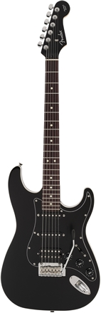 MADE IN JAPAN AERODYNE II STRATOCASTER® HSS - Black