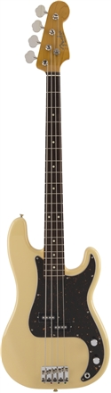 Made in Japan Traditional 60s Precision Bass® Limited Run Vintage White -