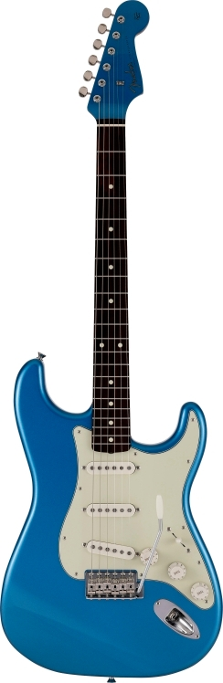 2021 Collection Made in Japan Traditional 60s Stratocaster® Roasted Neck - Lake Placid Blue