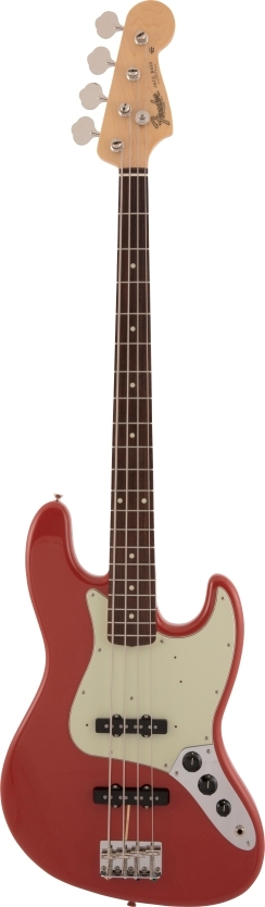 Made in Japan Traditional 60s Jazz Bass® - Fiesta Red