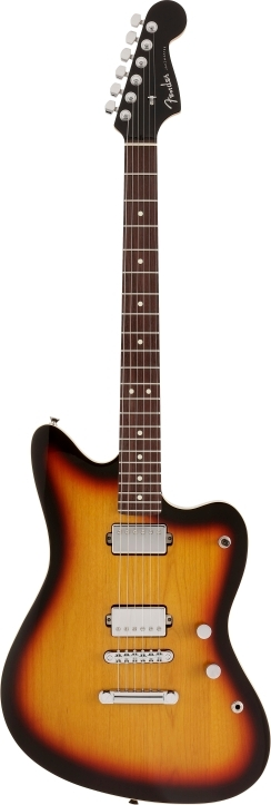 Made in Japan Modern Jazzmaster® Limited Run 3-Color Sunburst -