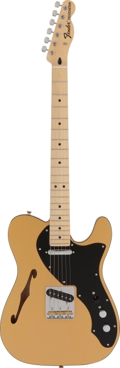 Made in Japan Hybrid Telecaster® Thinline Limited Run Gold Top -