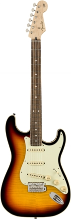 Limited Edition Aerodyne Classic Stratocaster® Flame Maple Top - 3-Color Sunburst