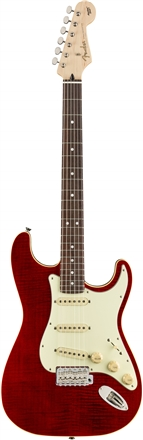 Limited Edition Aerodyne Classic Stratocaster® Flame Maple Top - Red