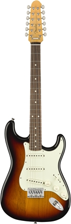 FSR MIJ Traditional Stratocaster® XII - 3-Color Sunburst