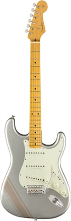 FSR Traditional '50s Stratocaster® with Stripe - Inca Silver with Shoreline Gold Stripes