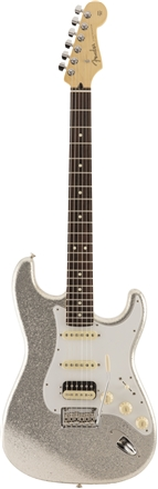 Limited Edition Made in Japan Hybrid Stratocaster® HSS Silver Sparkle -