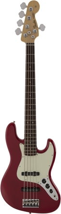 Made in Japan Hybrid Jazz Bass® V - Torino Red