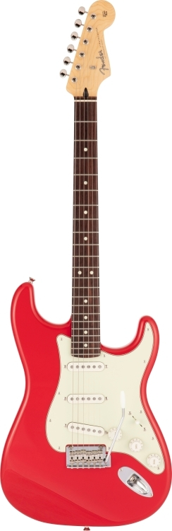 Made in Japan Hybrid II Stratocaster® - Modena Red