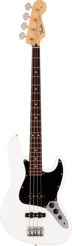 Made in Japan Hybrid II Jazz Bass® - Arctic White