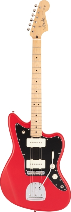 Made in Japan Hybrid II Jazzmaster® - Modena Red