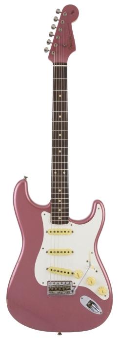 "Char 1959 Stratocaster® ""Burgundy"" Journeyman Relic -"