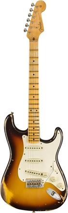 1959 Stratocaster® Heavy Relic® - Maple - Faded Chocolate 3-Color Sunburst