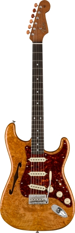 Artisan Maple Burl Thinline Stratocaster® -