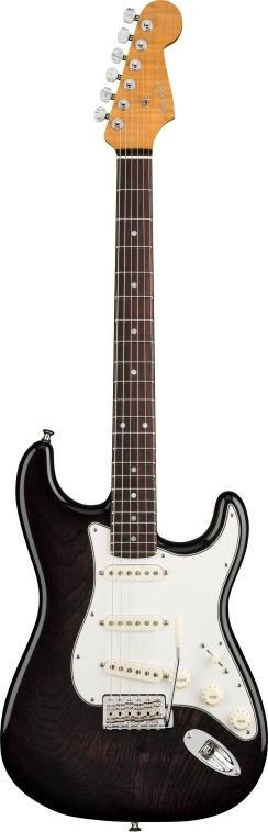 American Custom Stratocaster® RW - Ebony Transparent