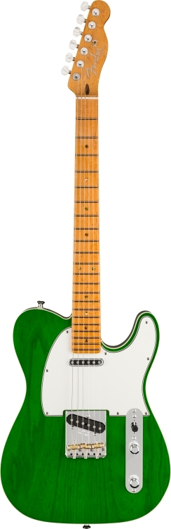 American Custom Telecaster® - Emerald Green Transparent