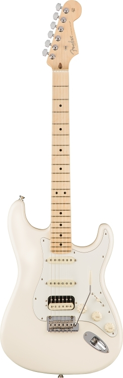 American Professional Stratocaster® HSS Shawbucker - Olympic White