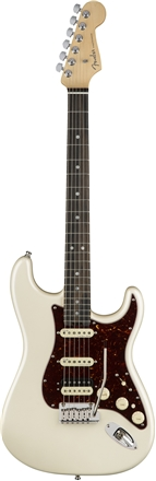 American Elite Stratocaster® HSS Shawbucker - Olympic Pearl